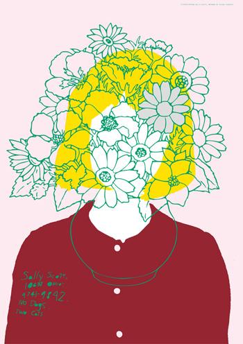 「Sally Scott」2013 a/w ポスター