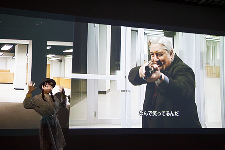 ピエール・ユイグ『第三の記憶』展示風景