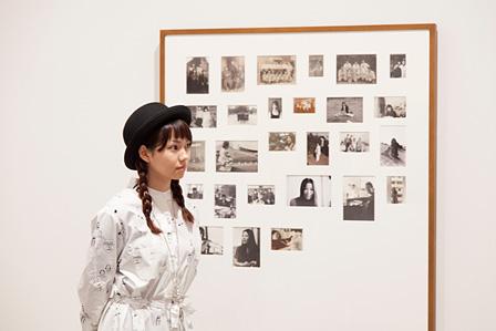 エリック・ボードレール『重信房子、メイ、足立正生のアナバシス、そして映像のない27年間』展示風景