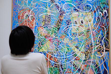 中園孔二『無題』展示風景 ©Nakazono Koji