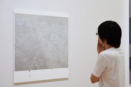 青木豊『untitled』展示風景 ©Aoki Yutaka