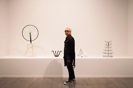マルセル・デュシャンによるレディメイド(既製品を使った作品)が並ぶ「Original(オリジナル)」の展示