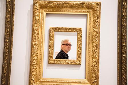「Frame(額 / 枠)」の展示風景