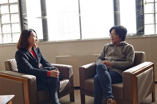 左から:相馬千秋、北田暁大