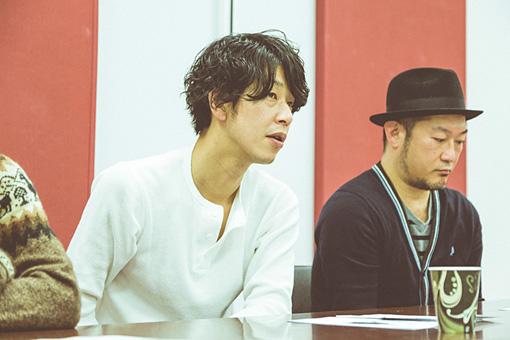 左から:西川弘、田中和将、亀井亨