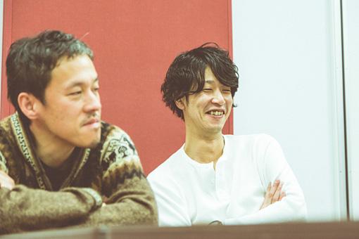 左から:西川弘、田中和将
