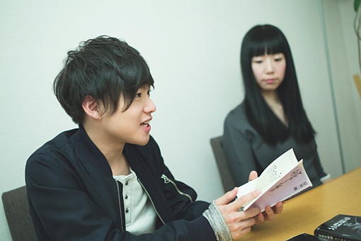 左から:ぼくのりりっくのぼうよみ、浅井茉莉子