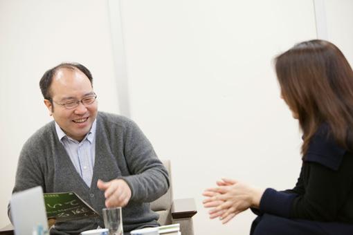 左から:石岡良治、岡村恵子