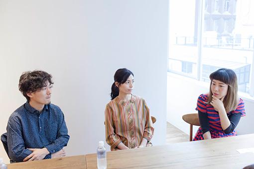 左から:松居大悟、町田マリー、山田佳奈