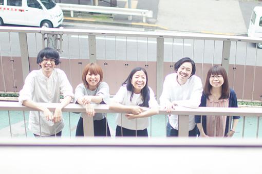 左から:HAPPY、柴由佳子、椎名杏子、リーダー、林絵里