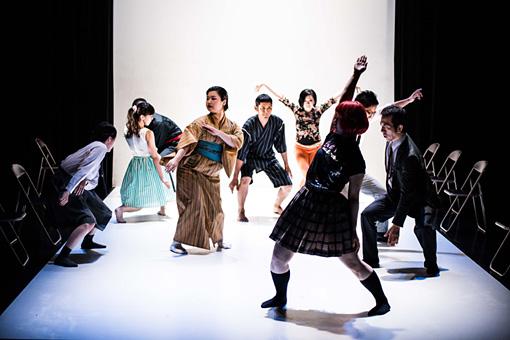 DANCE BOX主催『留学NEXT』 『花道ジャンクション』(振付:井手茂太)