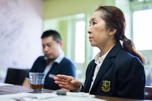 左から:井手茂太、黒沢美香