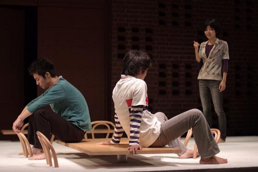 チェルフィッチュ『フリータイム』 Photo:Mineo Sakata