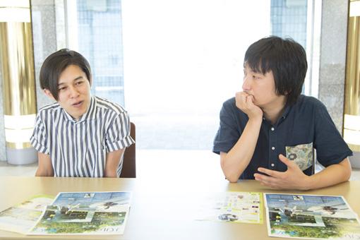 左から:DE DE MOUSE、糸井幸之介