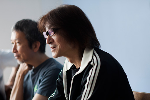 左から:原田仁、勝井祐二