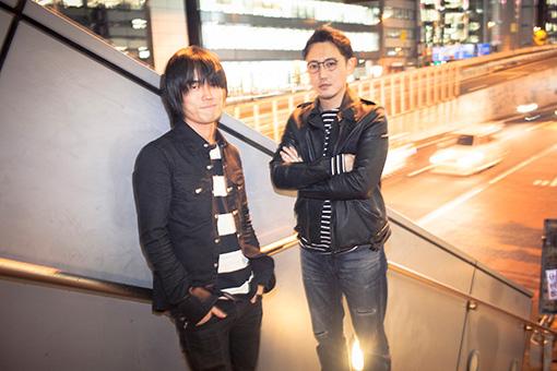 左から:熊谷和海(BURNOUT SYNDROMES)、いしわたり淳治