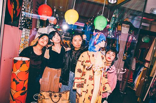 左から:カナ、ユウキ、ユナ、マナ