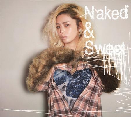 "Chara『Naked & Sweet』通常盤ジャケット / ""Violet Blue""はDisc1に収録"