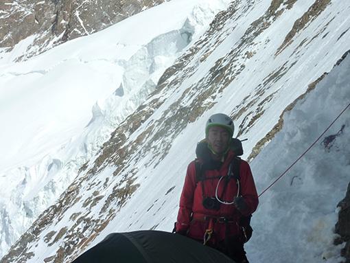 2015年夏、K2遠征中、標高6500地点
