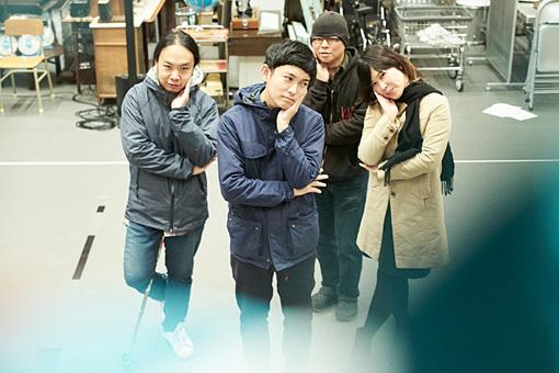 左から:山本達久、藤田貴大、須藤俊明、石橋英子