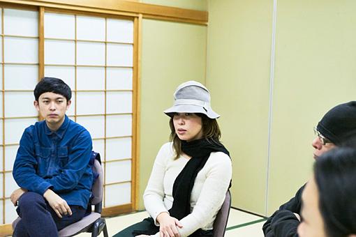 左から:藤田貴大、石橋英子