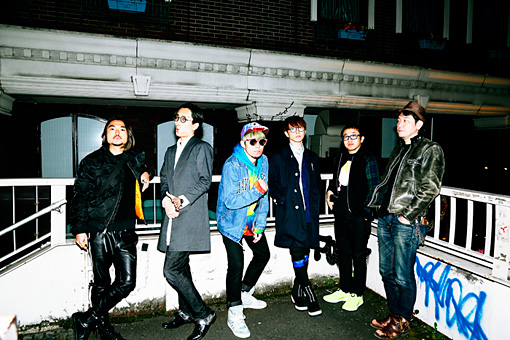 左から:田辺秀伸、山崎連基、BOZO、YGQ、スミス、鶴岡雅浩