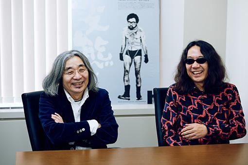 左から:安齋肇、みうらじゅん