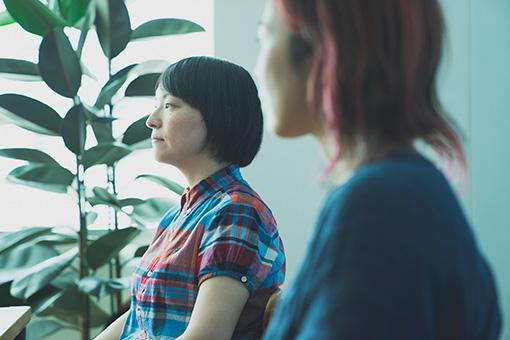 左から:田渕ひさ子、原田郁子