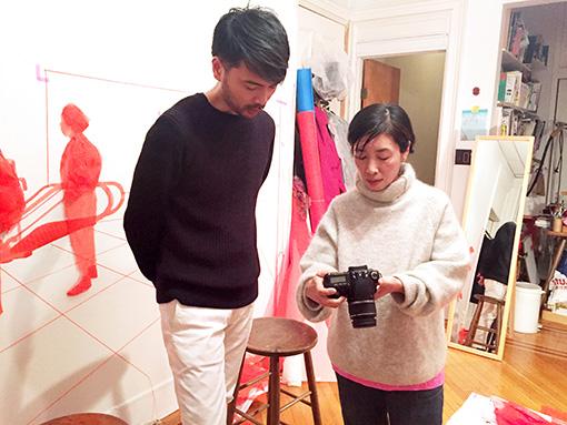 左から:戸塚憲太郎、織晴美