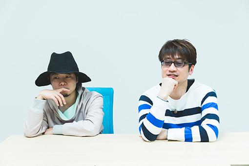 左から:kz(livetune)、北川勝利