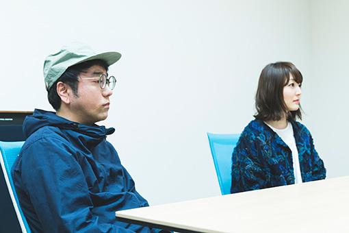 左から:藤枝憲、花澤香菜