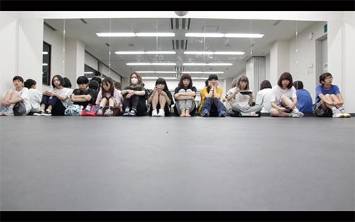 新生BiSメンバーオーディションの様子 / 映画『WHO KiLLED IDOL ? -SiS消滅の詩-』より