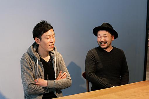 左から:相壁琢人、田中生