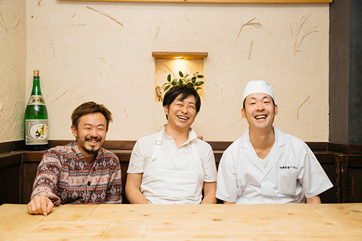 左から:目黒浩敬、松本圭介、今村正輝