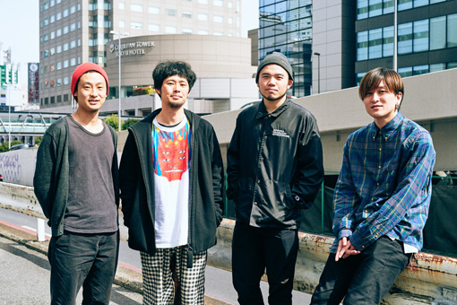 左から:織田洋介、武徹太郎、AFRO、UK