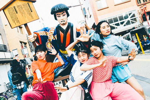 左から:ユウキ、マナ、カナ、ユナ