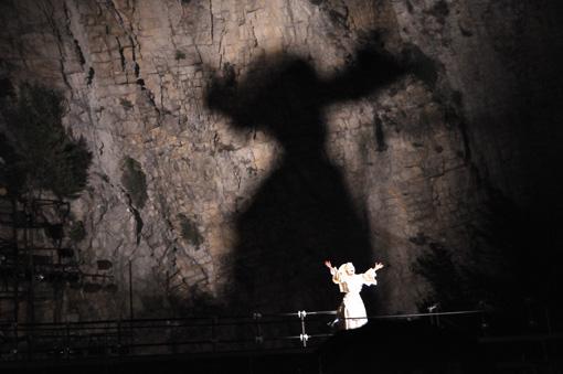 『マハーバーラタ~ナラ王の冒険~』2014年7月アヴィニョン演劇祭 ©中野真希
