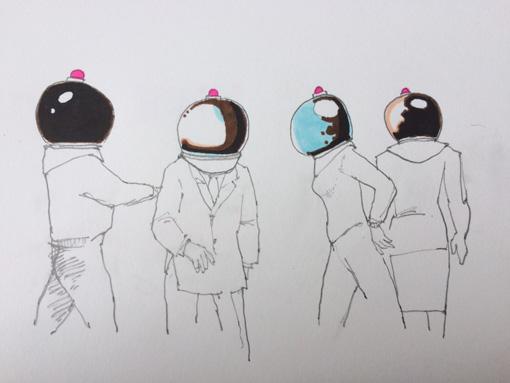 『MOON』作品イメージイラスト ©TANINO Kuro