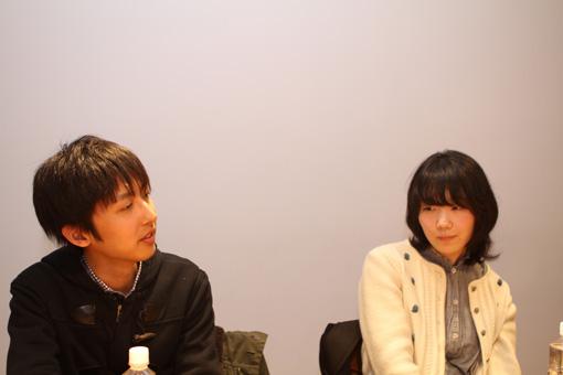 左から:篠原良彰、ナナ