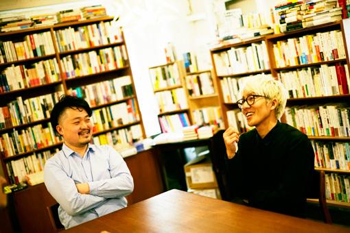 左から:内沼晋太郎、吉田昌平