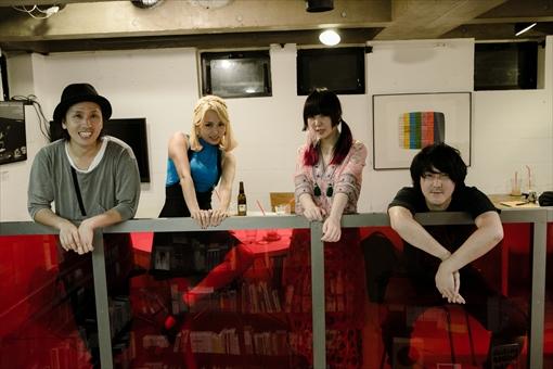 左から:卯城竜太、エリイ、大森靖子、岡田将孝