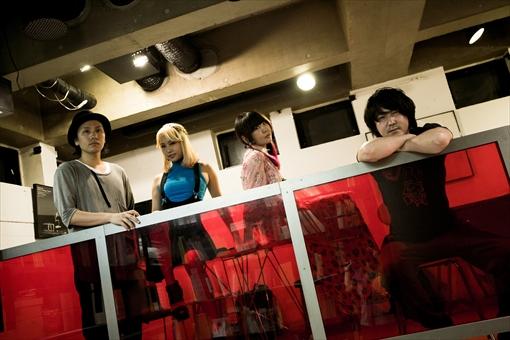 左から:卯城竜太、エリイ、大森靖子、岡田将孝(Chim↑Pom)