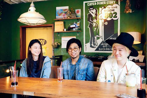 左から:片平里菜、吉田結威(吉田山田)、山田義孝(吉田山田)