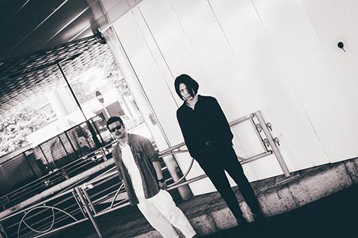 左から:那倉太一(ENDON)、小林祐介(THE NOVEMBERS)