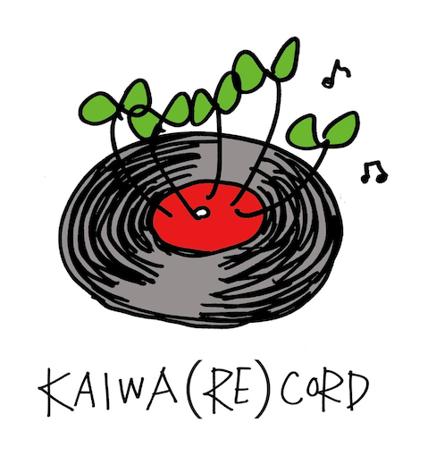 「KAIWA(RE)CORD」ロゴ画像