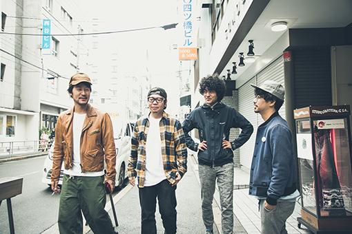 左から:五味岳久(LOSTAGE)、TORA(8otto)、Masaki Maenosono(8otto)、後藤正文(ASIAN KUNG-FU GENERATION)
