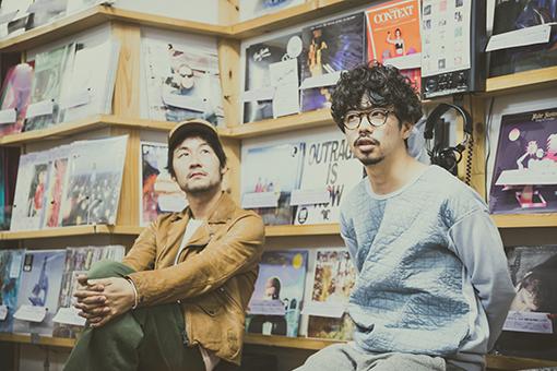左から:五味岳久(LOSTAGE)、後藤正文(ASIAN KUNG-FU GENERATION)