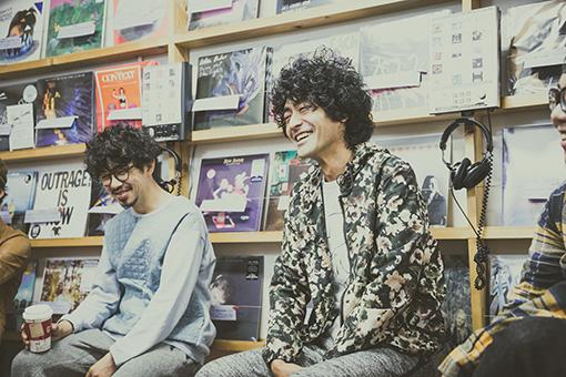 左から:後藤正文(ASIAN KUNG-FU GENERATION)、Masaki Maenosono(8otto)