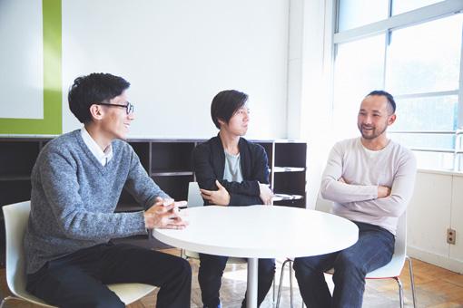 左から:中島晴矢、原田裕規、石井友人