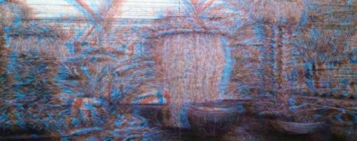 石井友人『Sub image (green house botanical garden)』(2017年)